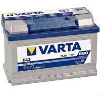 Аккумуляторная батарея VARTA BD(E12) 6ст-74 (п.п.) 680А 276*175*190 574013068