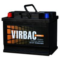 Аккумуляторная батарея VIRBAC Classic 6ст-60 (п.п.) 480А 242*175*190 РФ