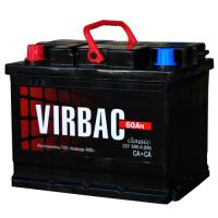 Аккумуляторная батарея VIRBAC Classic 6ст-60 (о.п.) 480А 242*175*190 РФ