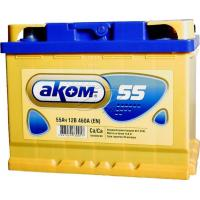 Аккумуляторная батарея AKOM 6ст-60 (п.п.) 520А 242*175*190