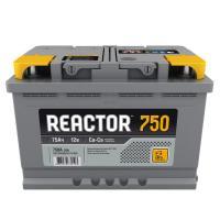 Аккумуляторная батарея REACTOR 6ст-75 (о.п.) 750А 278*175*190 РФ