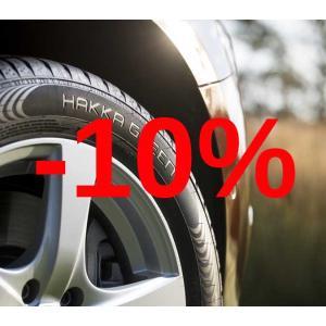 Скидка 10% на шины Nokian